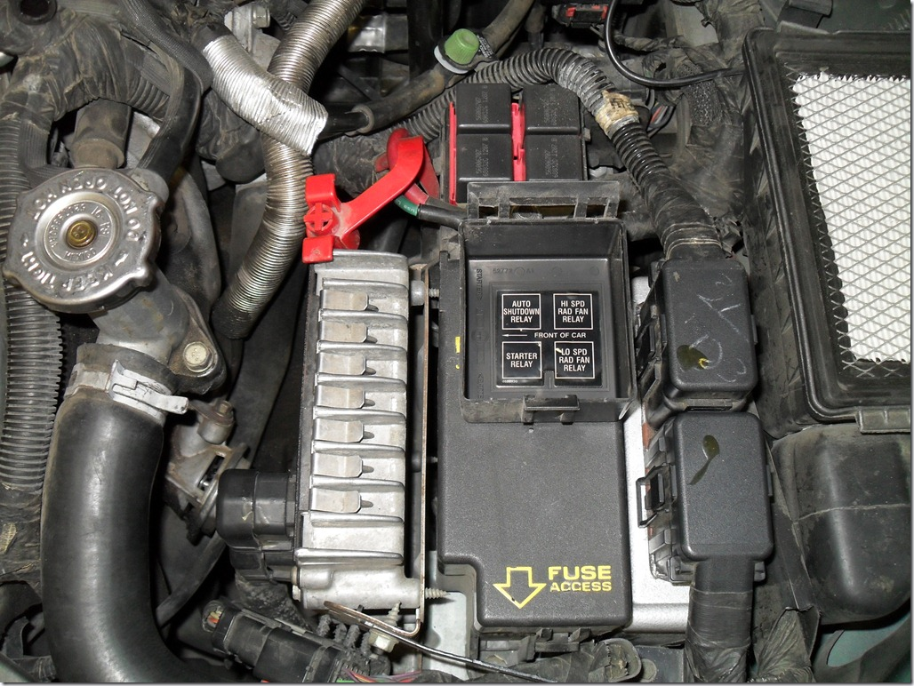 Just Where Is The Starter Relay On A 1997 Chrysler Sebring