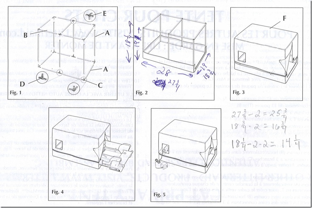 LitterMaideDesign1  sc 1 st  Russu0027 Do It Yourself Home Workshop & Re-engineering the Frame for the Litter Maid Cover « Russu0027 Do It ...