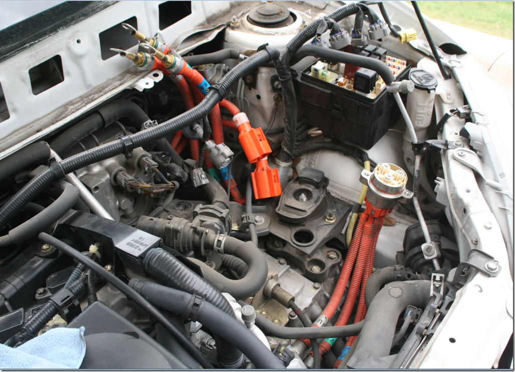 Replacing The Inverter Assembly On A 2002 1st Gen Prius
