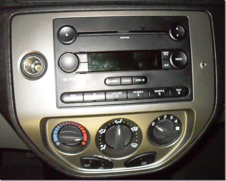 installing pac aai frd04 auxiliary input in a 2006 ford focus russ rh idoneitmyself com Ford Focus 2005 Aux 2007 Ford Focus Radio