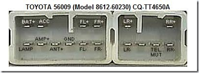 Prius radio connector diagram
